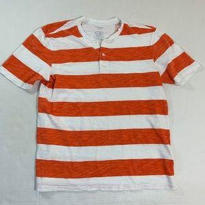 Men's Vince Striped Henley T Shirt M
